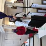Chris Psolka processes out of Christ Church on her last day as music minister.