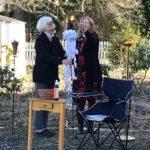 Mother Lisa, Deacon Vicki Light the New Fire: Easter Vigil 2021