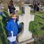 There Were Eggs for All: Christ Church Easter Egg Hunt, 2021